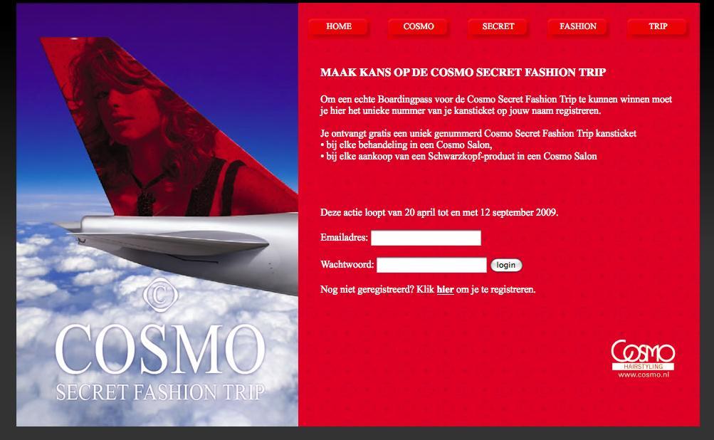 COSMO hairstyling inschrijven. EXCALIBUR maakt online pop-up voor